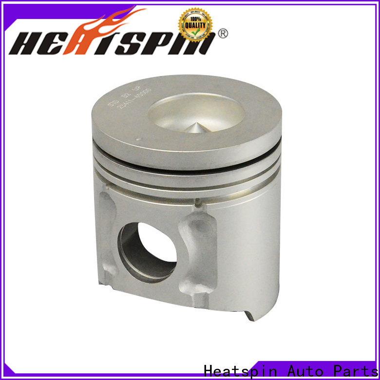 Heatspin Auto Parts forged aluminum pistons high performance for car
