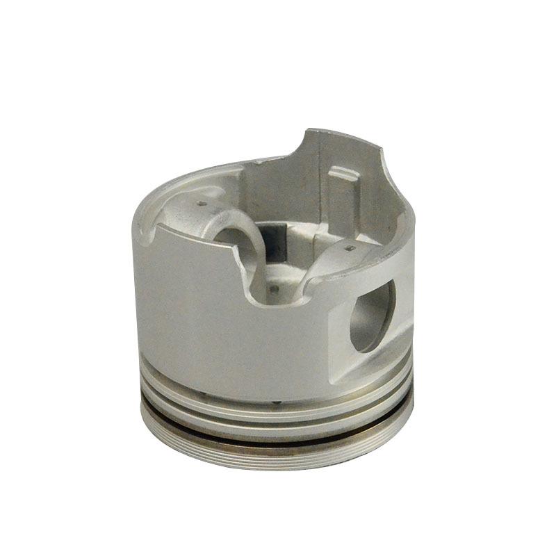 Aluminum alloy engine piston for TOYOTA