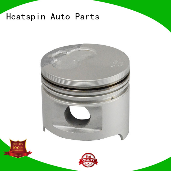 Heatspin Auto Parts custom turbo pistons factory for toyota diesel engine