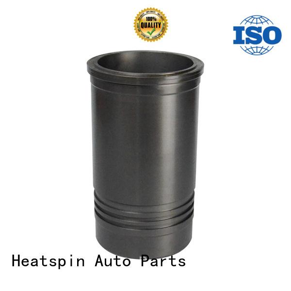 Cast iron phosphated wet cylinder liner for KOMATSU diesel engine 6D125