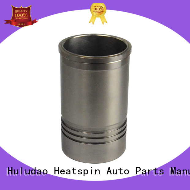 Heatspin Auto Parts NISSAN Cylinder Liner with sealing rings for nissan diesel engine