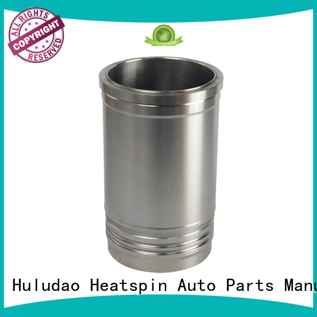 Heatspin Auto Parts iron cast iron cylinder sleeve with a metal plate accessory
