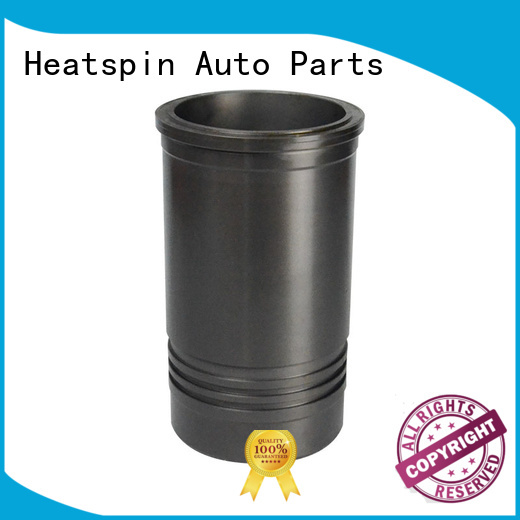 Heatspin Auto Parts wet engine cylinder sleeves with sealing rings for car