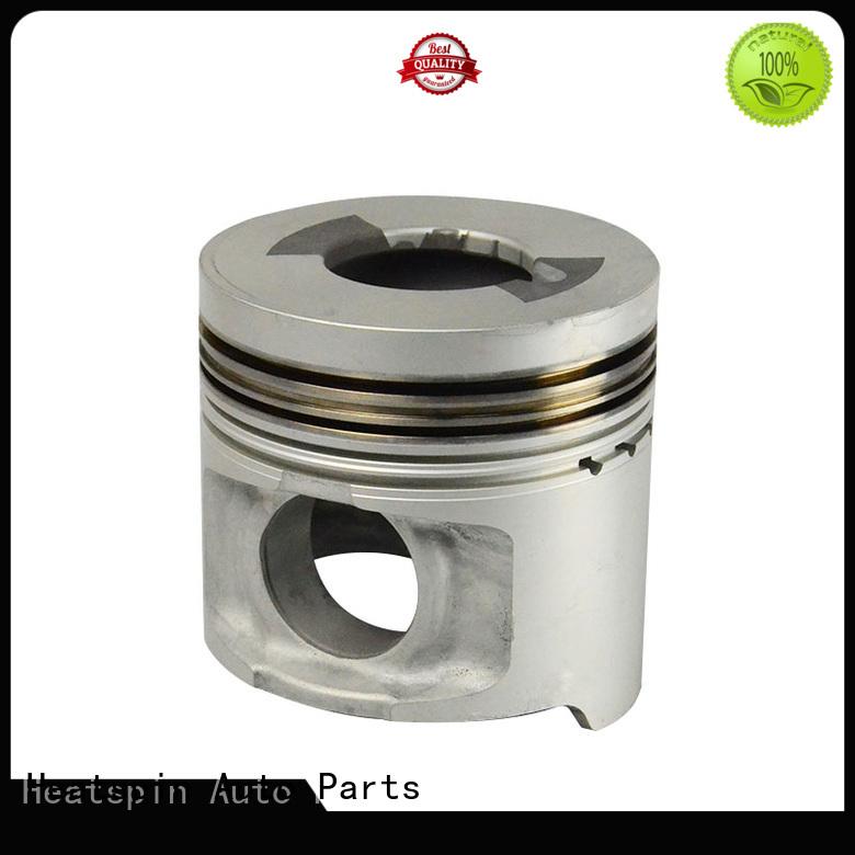 Heatspin Auto Parts forged steel pistons factory for isuzu diesel engine